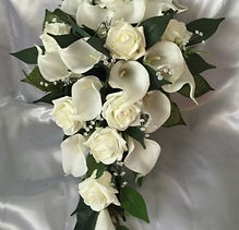 Calla Lily & Rose Bouquet