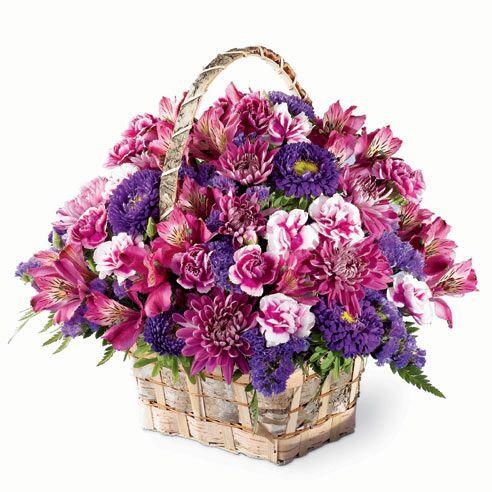 Pretty Basket Arrangement