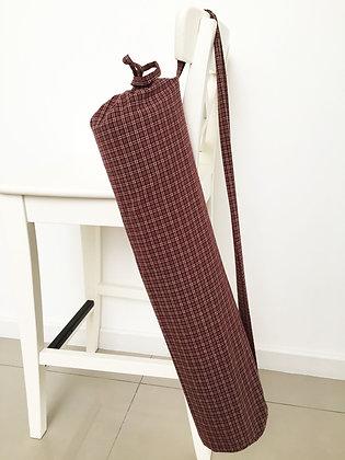 Maroon fabric - mild mannered style