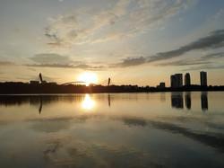 Sunrise of Putrajaya Lake