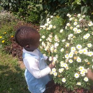 Sommerausflug des Waisenhauses