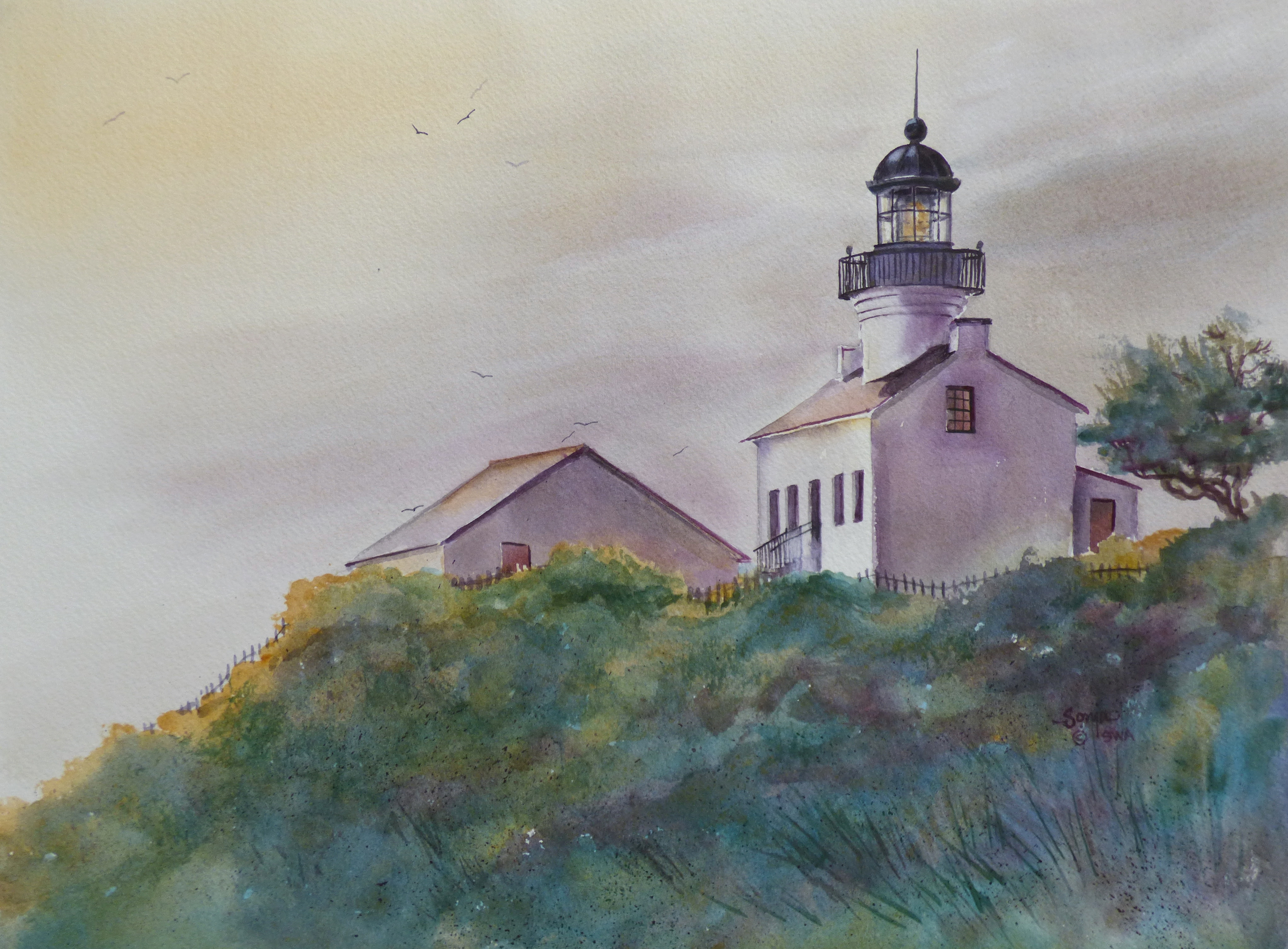 Cabrillo Point Lighthouse