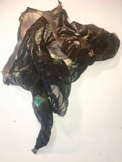 Shibori Silk Steel _Tangle_
