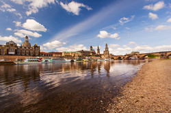 Along the Elbe River 4, Dresden, Germany