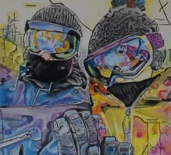 Snowboard Selfie