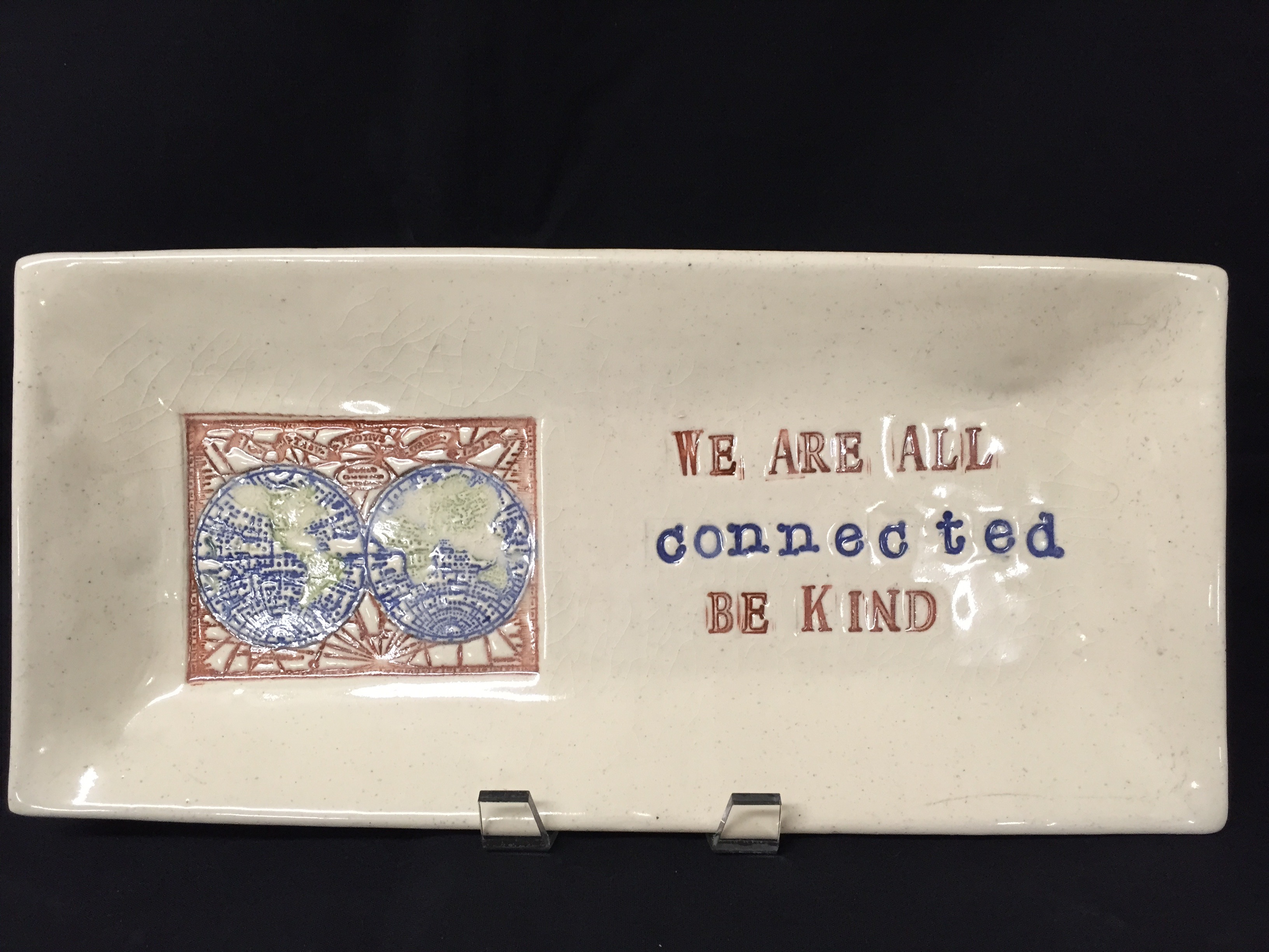 Be Kind, large tray