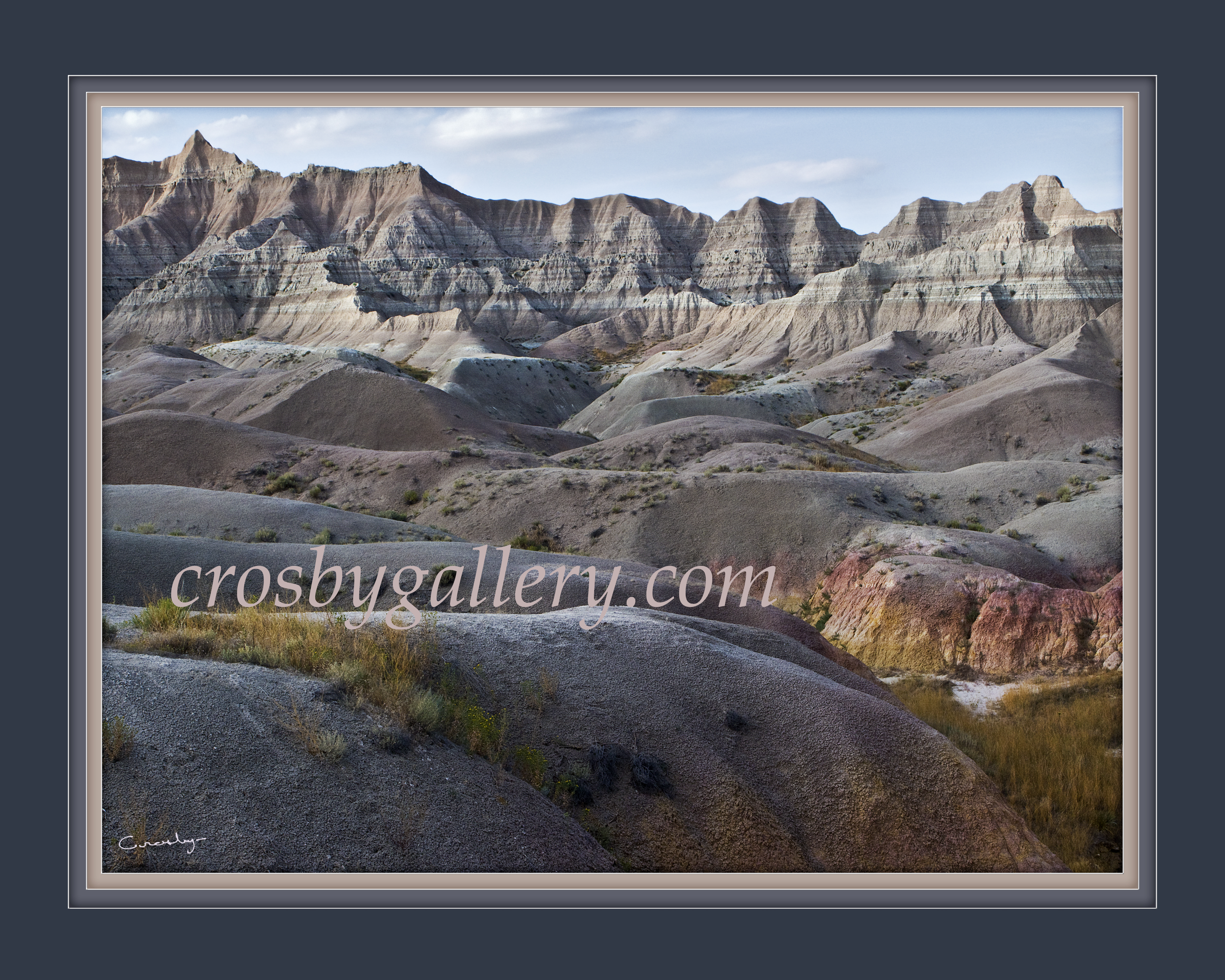 Badlands Mounds to