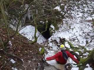 Les Cavottes :  les premiers pas d'une néophyte sous terre
