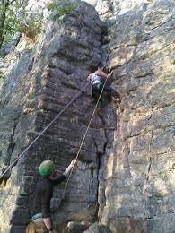 Escalade à Montfaucon