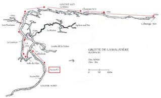 Grotte de la Malatière à Bournois