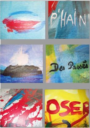 Exposition de peintures : « Les mots de l'être »