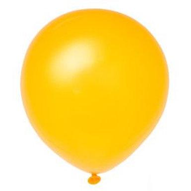 "Balloon Latex 12"" Schoolbus Yellow 72"