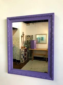 Mirror in Custom Purple