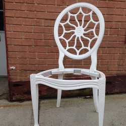 Spider-web Backed Chair