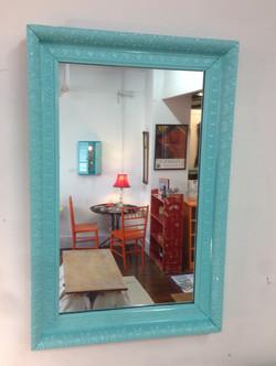rococo wall mirror $95