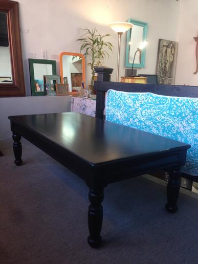 Coffee Table in Custom Black
