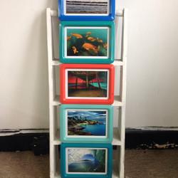 set of 5 Aaron Chang prints