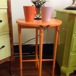mini drop-leaf table