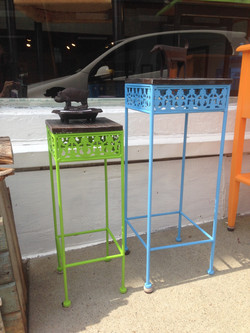 Pair of smalll nesting tables