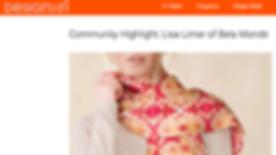 Community Highlight: Lisa Limer of Bela Monde