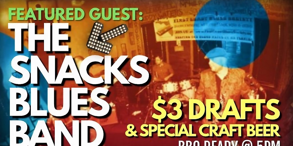The Snacks Blues Band at Wee Pub South