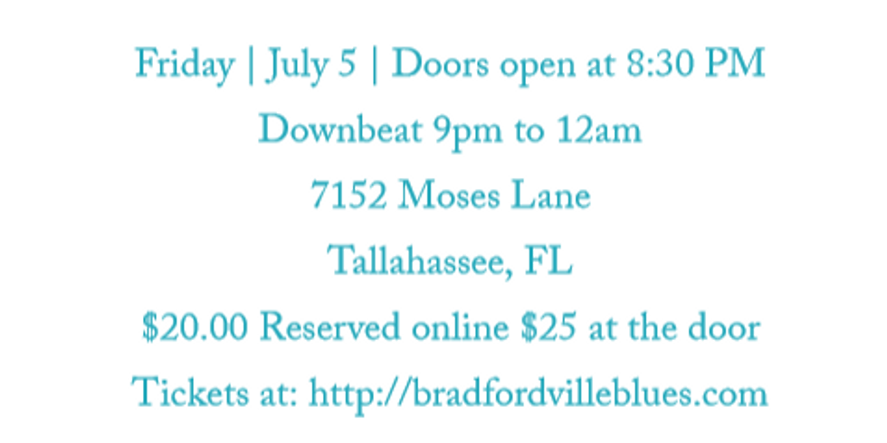 The Snacks @ Bradfordville Blues Club