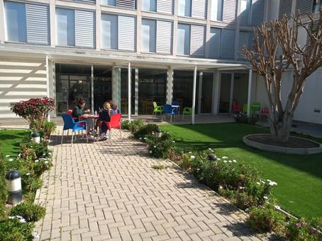 Zonas exteriores de la Residencia