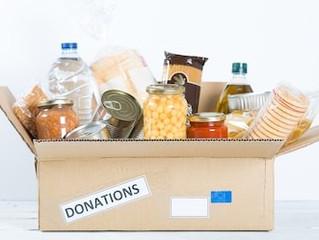 Food drive for Community Assistant Program