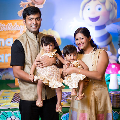 Spruha & Sparsh - 1st Birthday