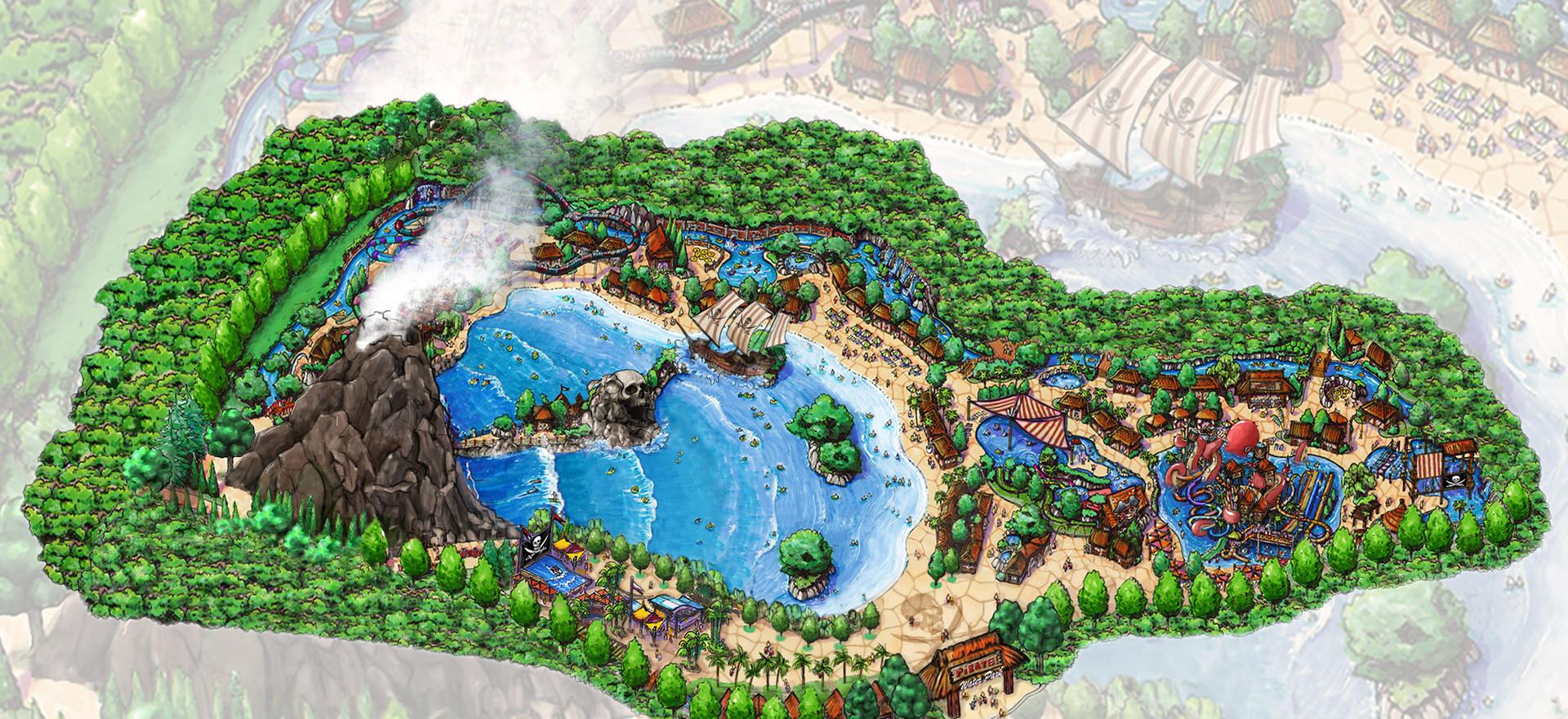 Pirate Island Water Park