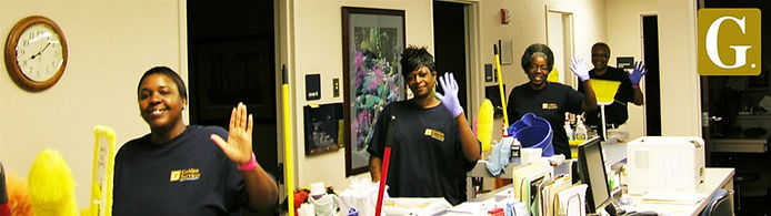 Golden Service Co. guaranteed satisfaction on any job! Janitorial commercial cleaning done right.
