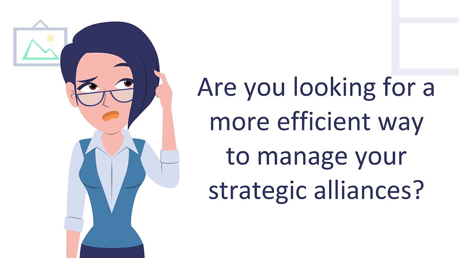 Alliance Board, alliance management software, eco system software, strategic alliance management