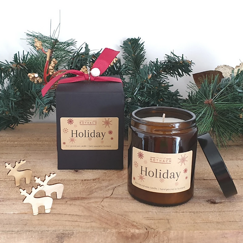 House of Rothach, Holiday Vegan Candle