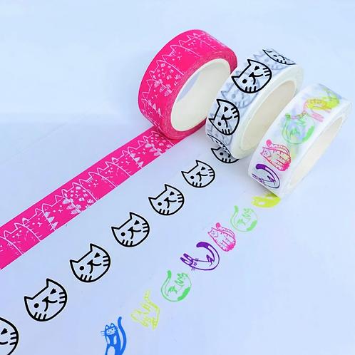 Sleepycats Gifts, Washi Tape