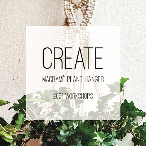 Macramé Plant Hanger Creative Workshop, Saturday 27th March