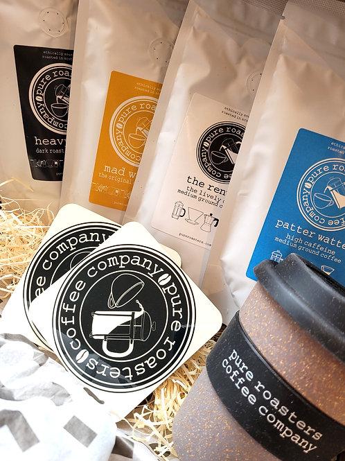 Pure Roasters, Coffee Set Gift Box