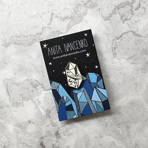 Anita Ivancenko, Celestial Gemstone Enamel Pin Badge