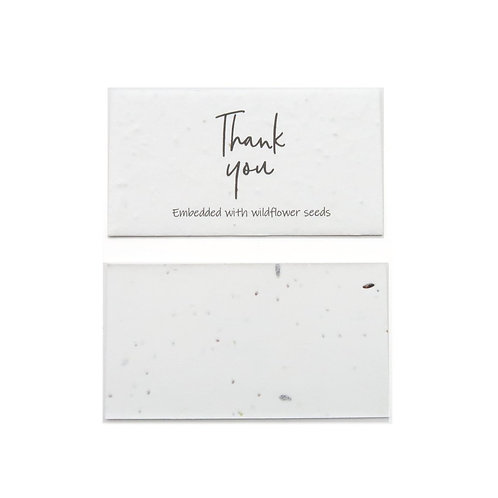 Cascayde, Plantable Thank You Cards, Pack of 10