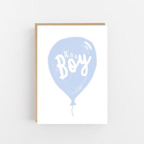 Lomond Paper Co, It's a Boy Greeting Card