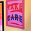 Thumbnail: Katy McCrossan Take Care Print, A4