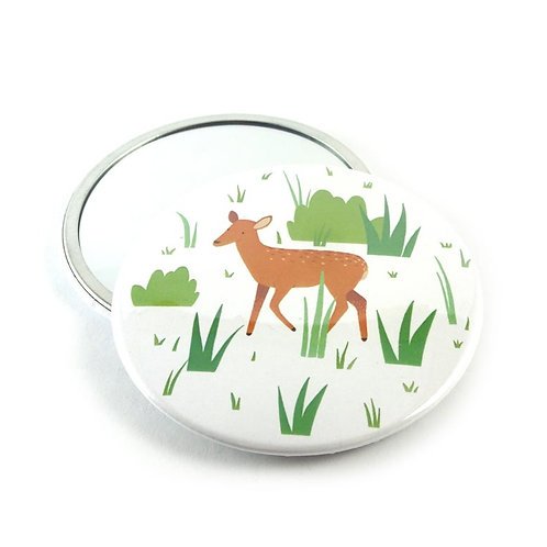 Tom Hardwick Deer Pocket Mirror