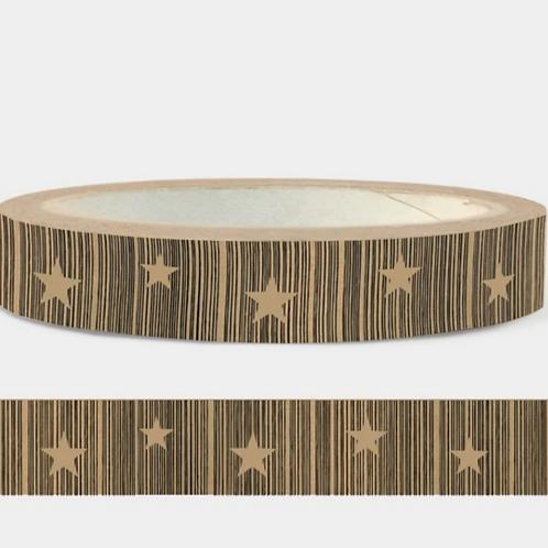 Cascayde, Eco Paper Tape, Star Design, 50m