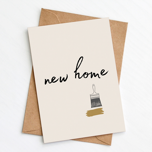 Greenwich Paper Studio, New Home Greeting Card