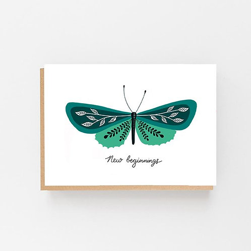 Lomond Paper Co, New Beginnings Greeting Card