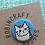 Thumbnail: Robincraft Cat Badges, Assorted Designs, Pink & Blue