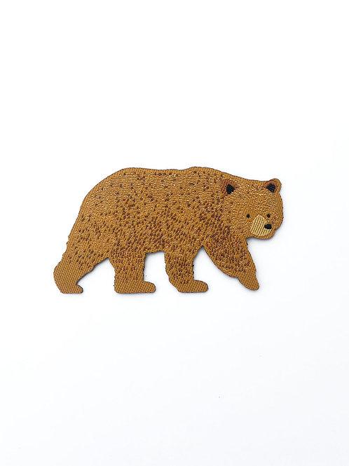 Tom Hardwick Woven Bear Patch