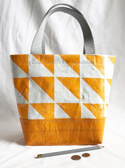 Made by KellyO Upcycled Seal Pup Tote Bag