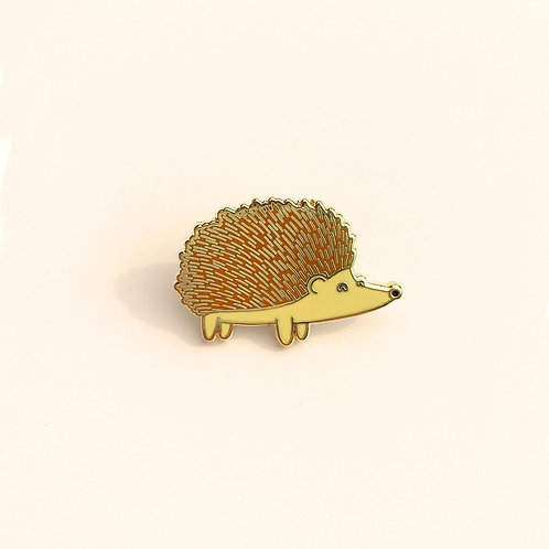 Tom Hardwick Hedgehog Enamel Pin