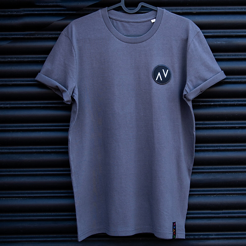 Haver, Organic Cotton T-Shirt, Grey