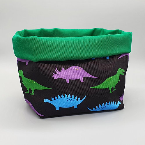 Blue Ranchu Designs, Dinosaurs Fabric Storage Basket